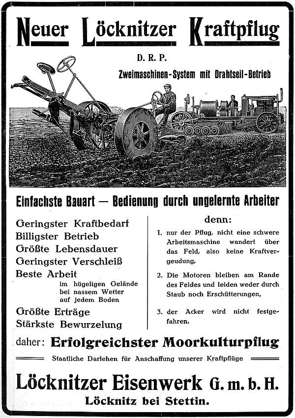 Annonce 23: Moornutzung (1900 bis ca. 1920)