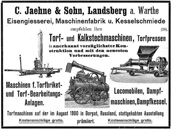 Annonce 20: Moornutzung (1900 bis ca. 1920)