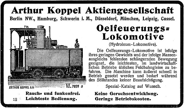 Annonce 22: Moornutzung (1900 bis ca. 1920)