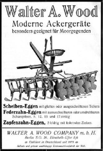 Annonce 18: Moornutzung (1900 bis ca. 1920)
